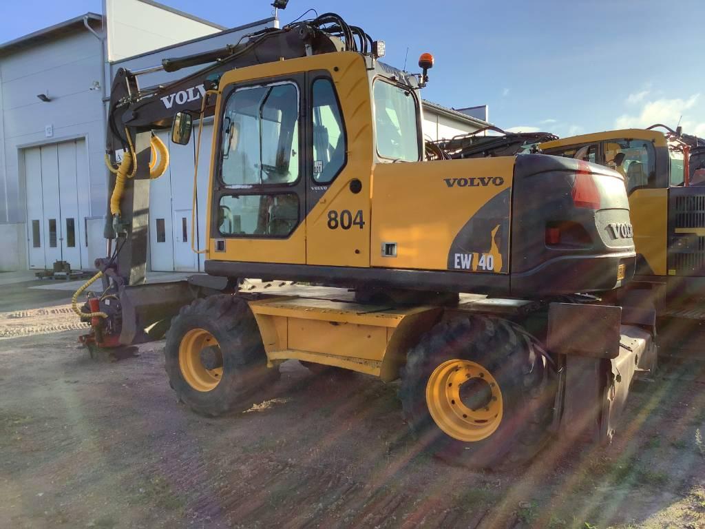 Volvo EW 140 B, Wheeled Excavators, Construction Equipment
