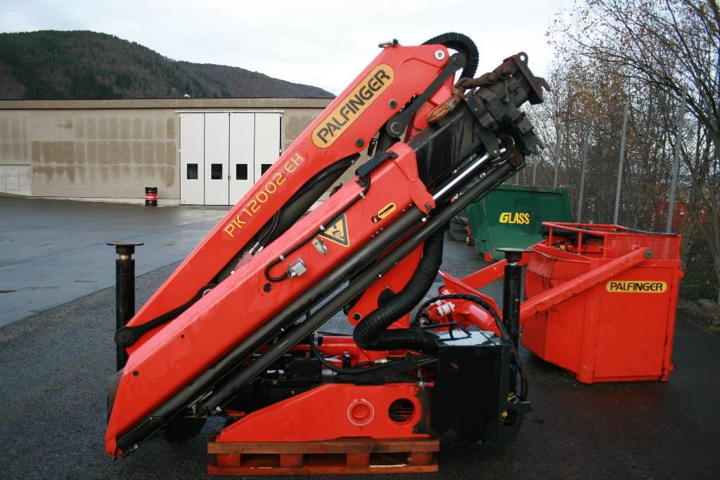 Palfinger PK12002 EH med godkjent arbeidskorg, Andre komponenter, Transport