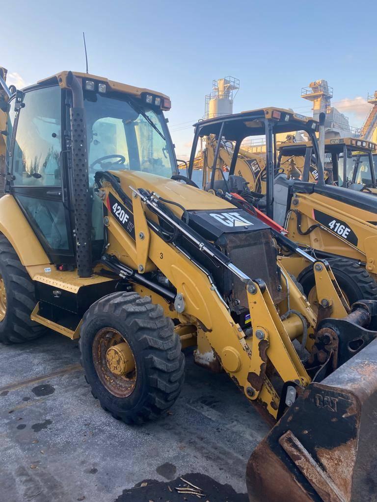 Caterpillar 420F IT, Backhoe Loaders, Construction Equipment