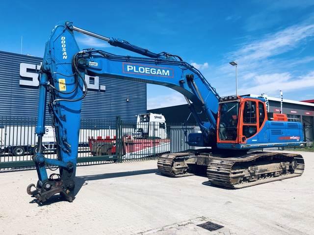 Doosan DX340LC-3, Crawler Excavators, Construction Equipment