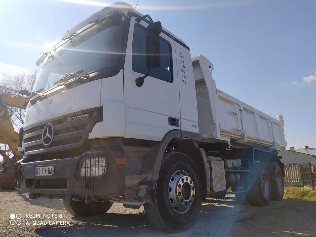 Mercedes-Benz Actros 6x4, Wywrotki, Transport