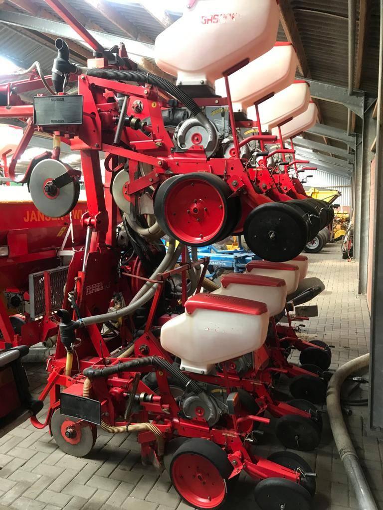 Gaspardo Zaaimachine 8 rijen mais, Precision Sowing Machines, Agriculture