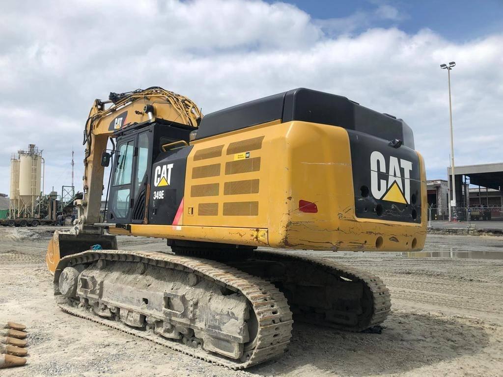 Caterpillar 349 EL, Crawler excavators, Construction