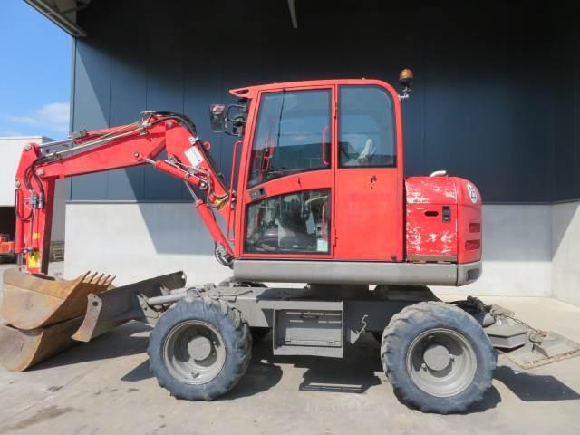 Terex TW 70, Wielgraafmachines, Bouw