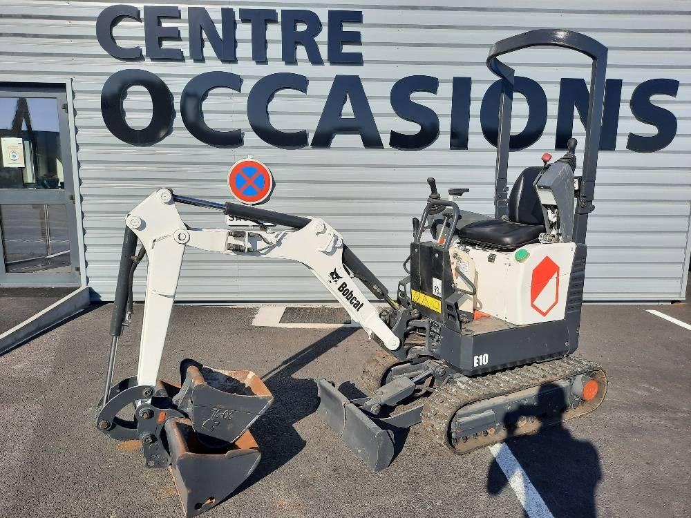 Bobcat E 10, Mini digger, Construction Equipment