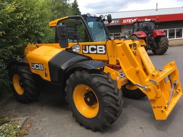JCB 541-70 Agri Plus verreiker / loader, Verreikers voor landbouw, Landbouw