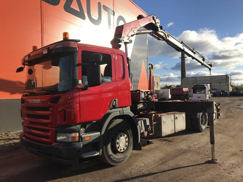 Scania P 400 HMF 2020, Boom / Crane / Bucket Trucks, Trucks and Trailers