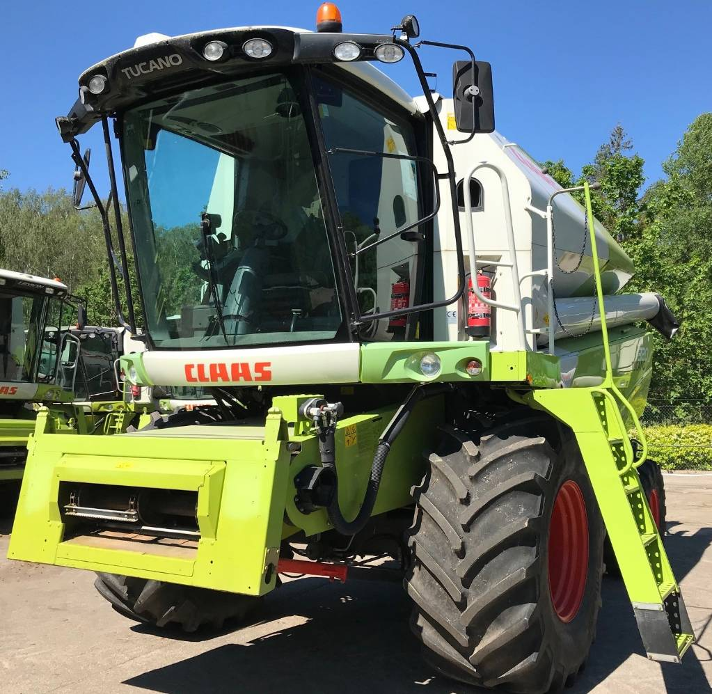 CLAAS Tucano 320, Combine harvesters, Agriculture