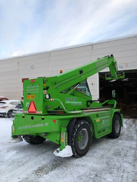Merlo Roto 40.26 M CS S, Telescopic handlers, Construction