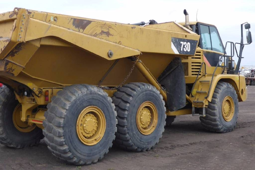Caterpillar 730, Articulated Dump Trucks (ADTs), Construction Equipment