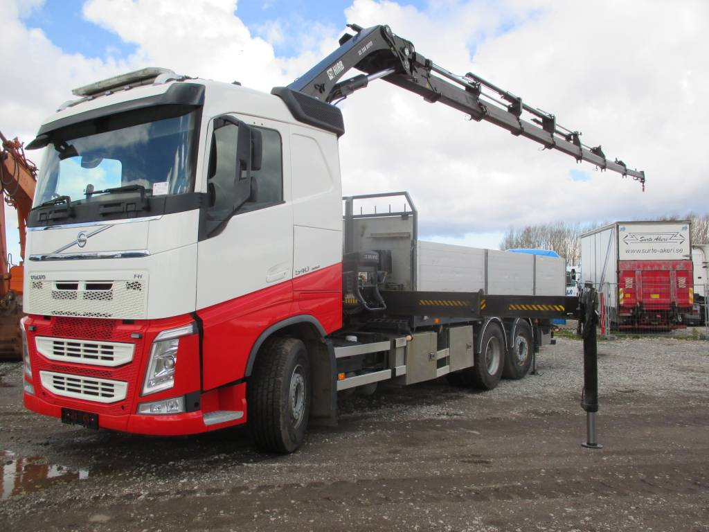 Volvo FH 540 HIAB 288 E-7 HIPRO, Boom / Crane / Bucket Trucks, Trucks and Trailers