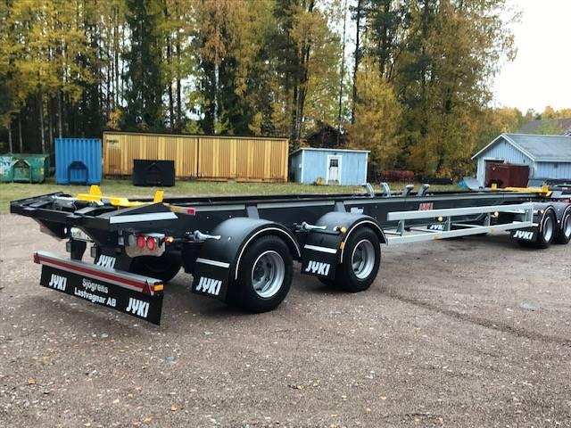 Jyki 4 axl Lastväxlarvagn/ Lastväxlarsläp, Lastväxlarsläp, Transportfordon
