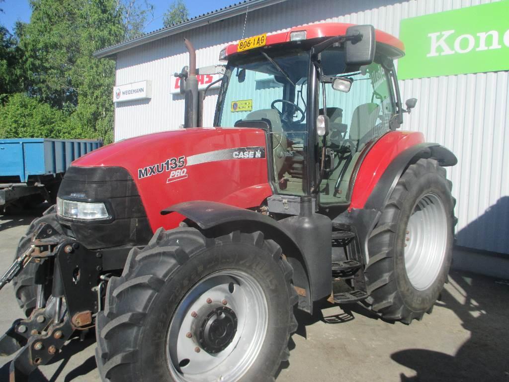 Case IH MXU 135, Tractors, Agriculture