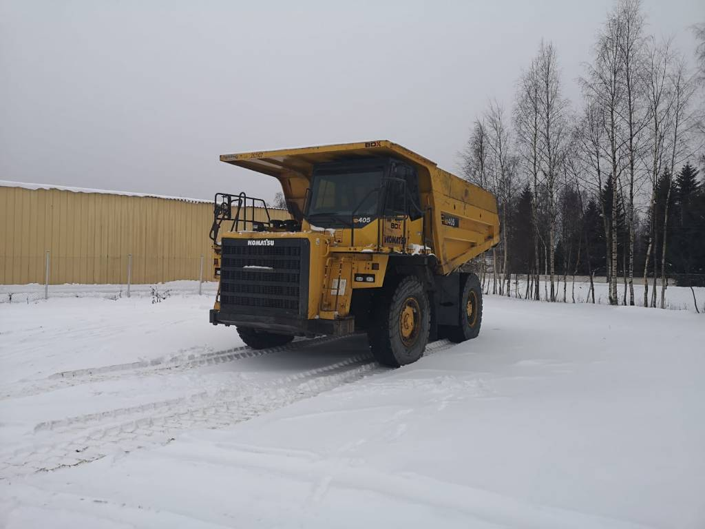 Komatsu HD405-7, Articulated Dump Trucks (ADTs), Construction