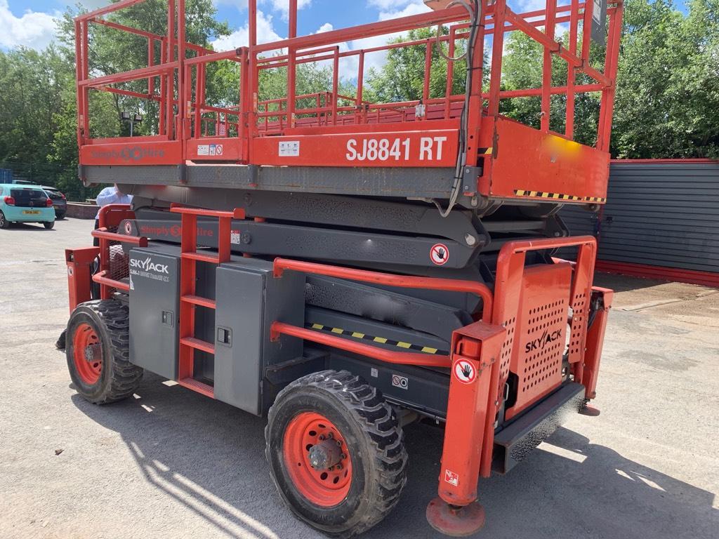 SkyJack SJ 8841 RT, Scissor lifts, Construction