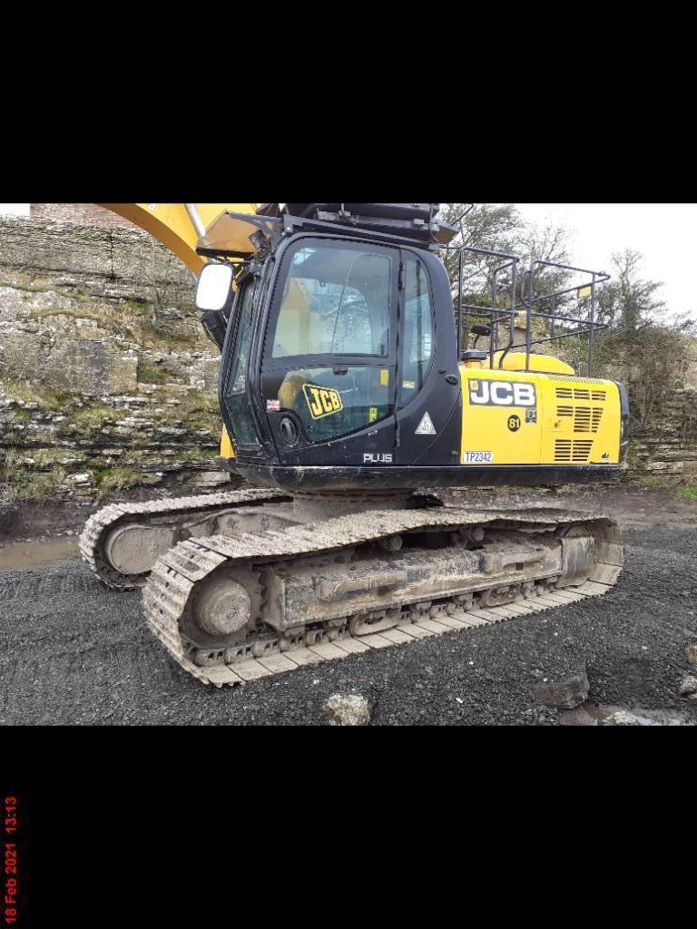 JCB JS 220 LC, Crawler excavators, Construction