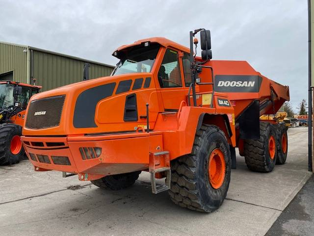Doosan DA 40, Articulated Dump Truck, Construction Equipment