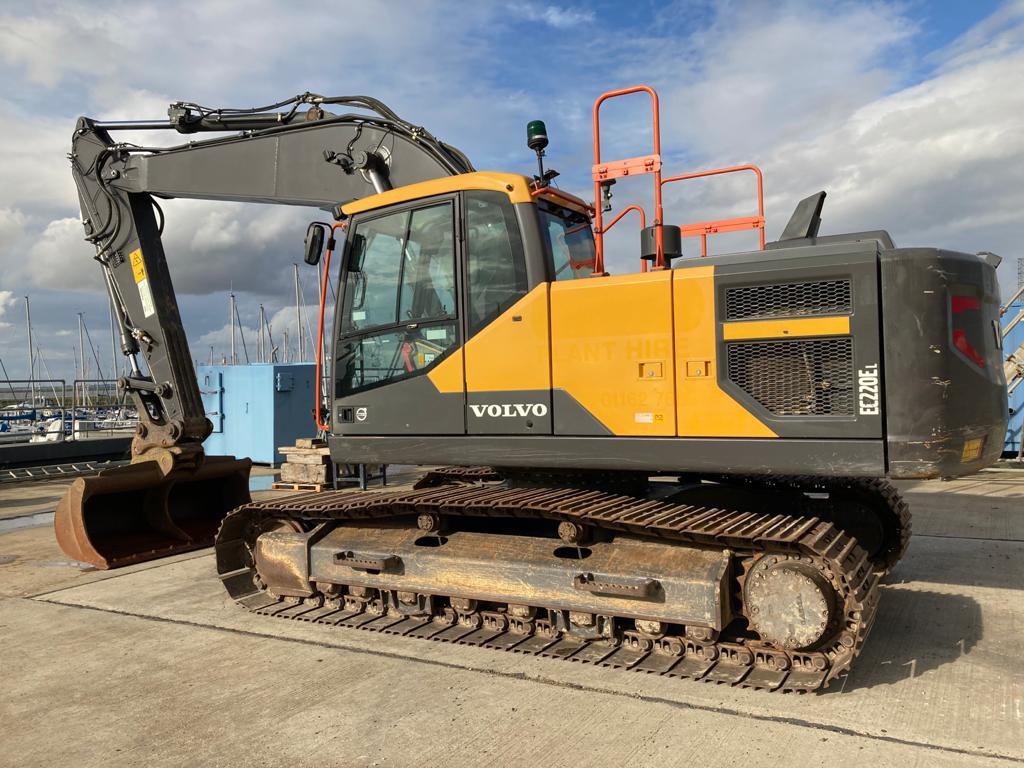 Volvo EC 220 EL, Crawler excavators, Construction