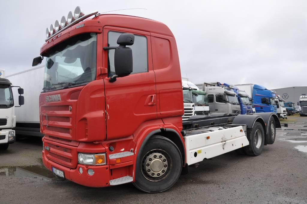 Scania R480LB6X2*4MNB, Chassier, Transportfordon