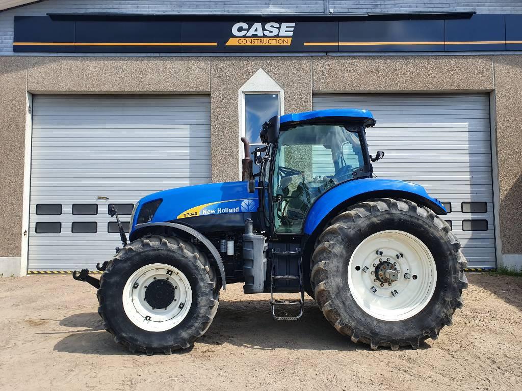 New Holland T 7040 PC, Traktorit, Maatalous
