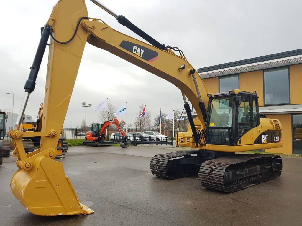 Caterpillar 320 D, Crawler Excavators, Construction Equipment