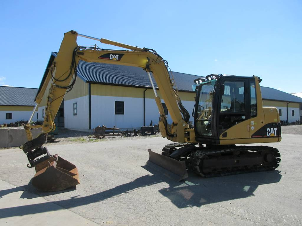 Caterpillar 307C grävmaskin, Midigrävmaskiner 7t - 12t, Entreprenad