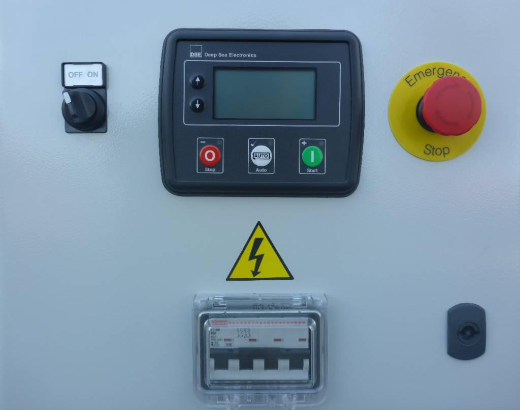 Yanmar 47 KVA Binnenvaart  generator set EU Stage V NRE, Maritiem hulpmotoren, Bouw