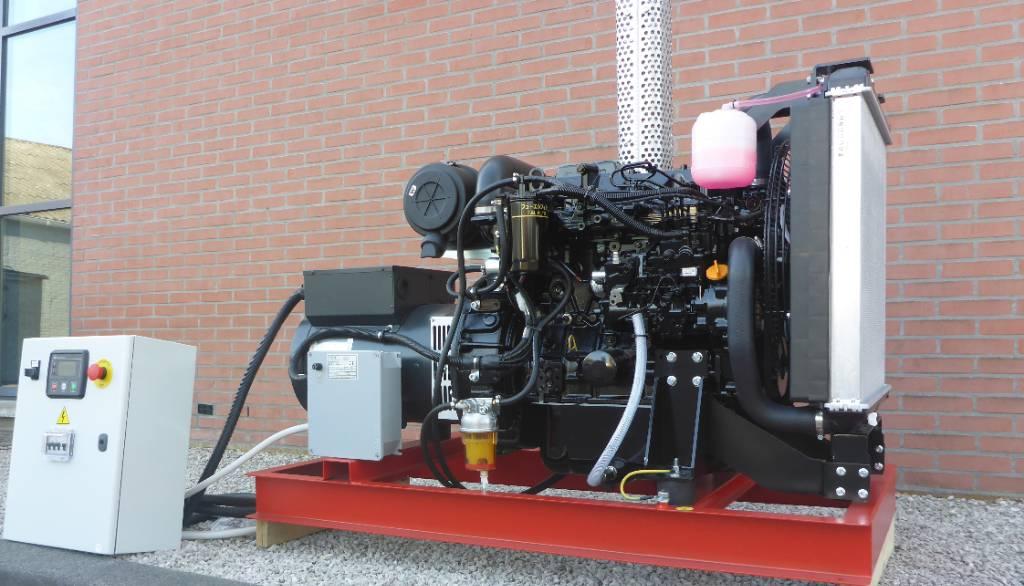 Yanmar 47 KVA Binnenvaart  generator set EU Stage V NRE, Schiffshilfsmotoren, Baumaschinen