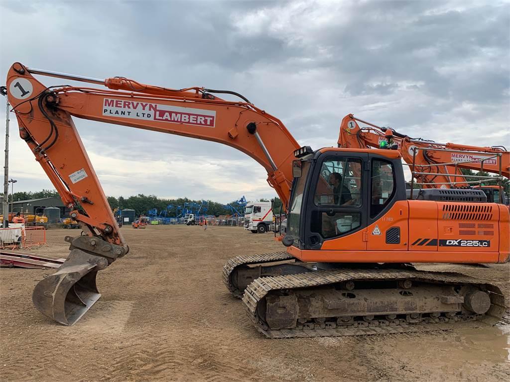 Doosan DX225, Crawler Excavators, Construction Equipment