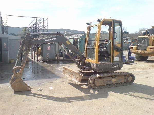 Volvo ECR 28, Mini Excavators <7t (Mini Diggers), Construction Equipment