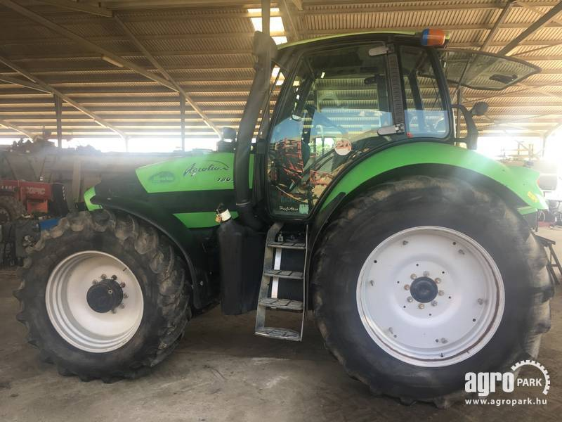 Deutz Fahr Agrotron 180.7 with 9340 hours, Powershift