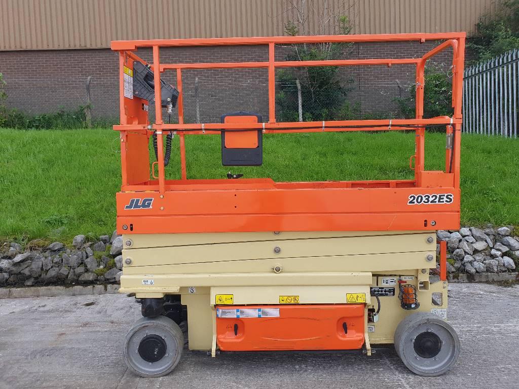 JLG 2032ES_485, Scissor lifts, Construction
