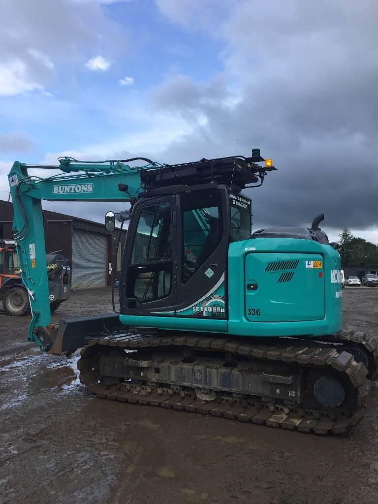 Kobelco SK 140 SR LC, Crawler excavators, Construction