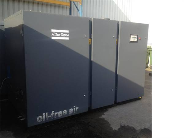 Atlas Copco ZR 200, Compressors, Industrial