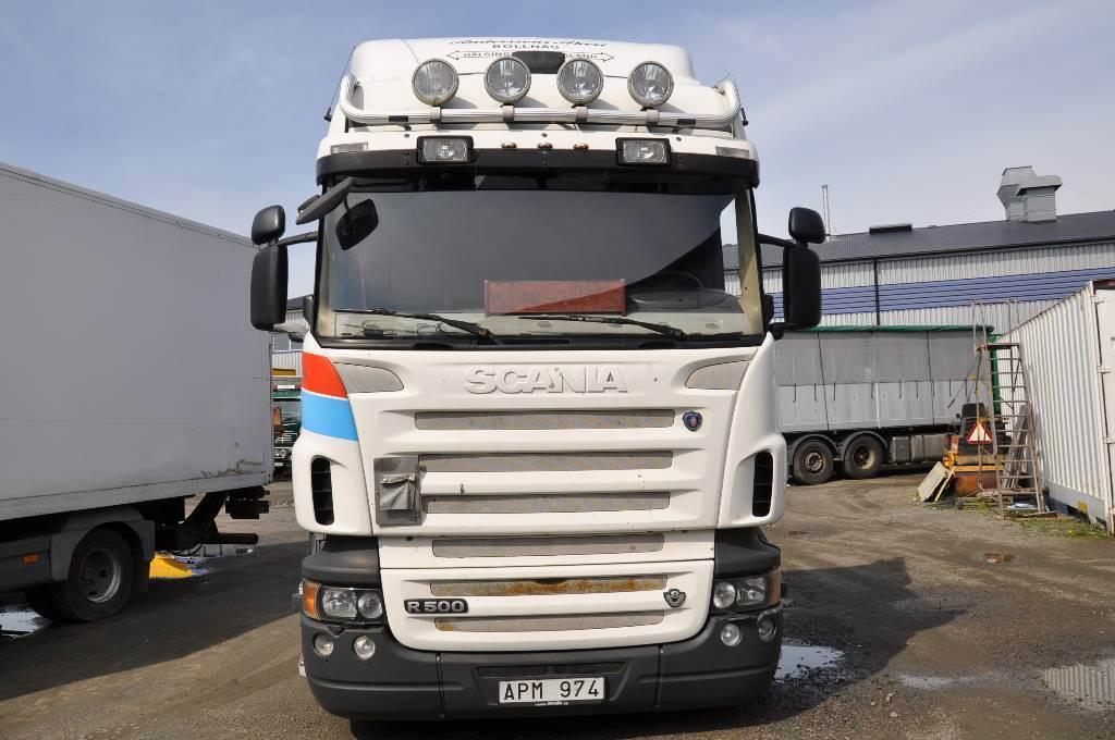 Scania R500 6X2, Chassier, Transportfordon