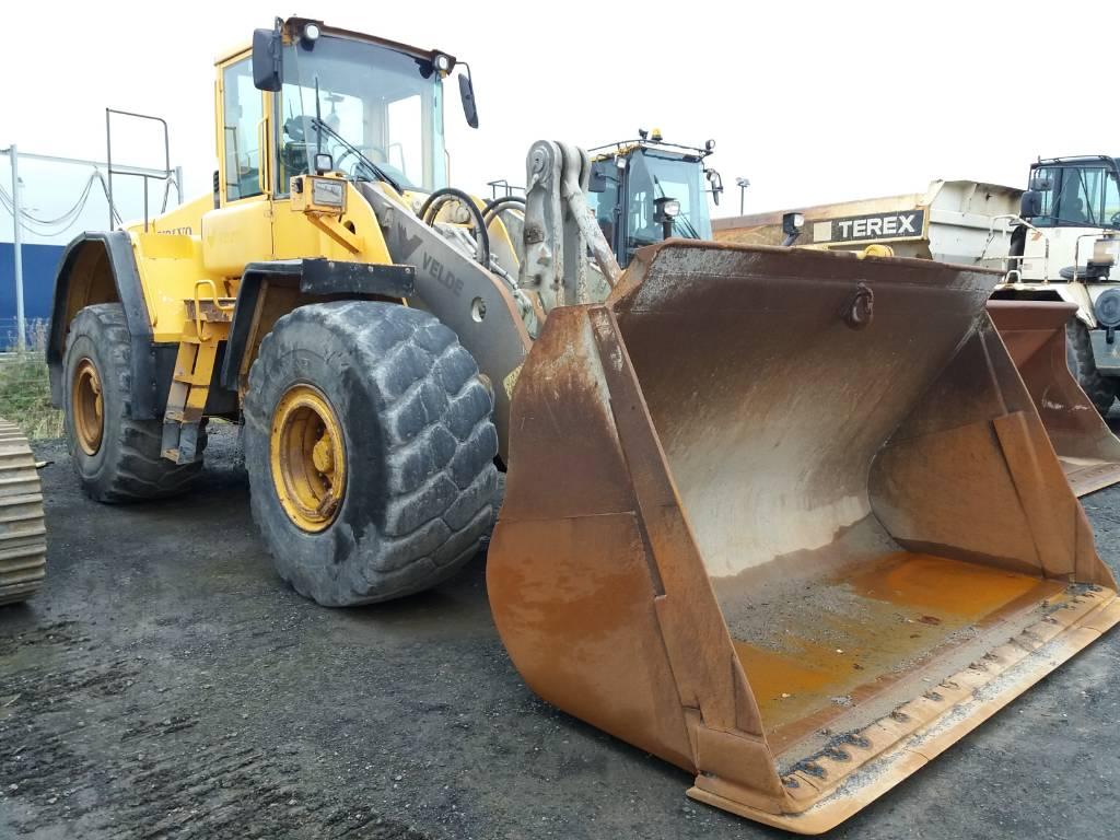 Volvo L180E, Wheel Loaders, Construction Equipment