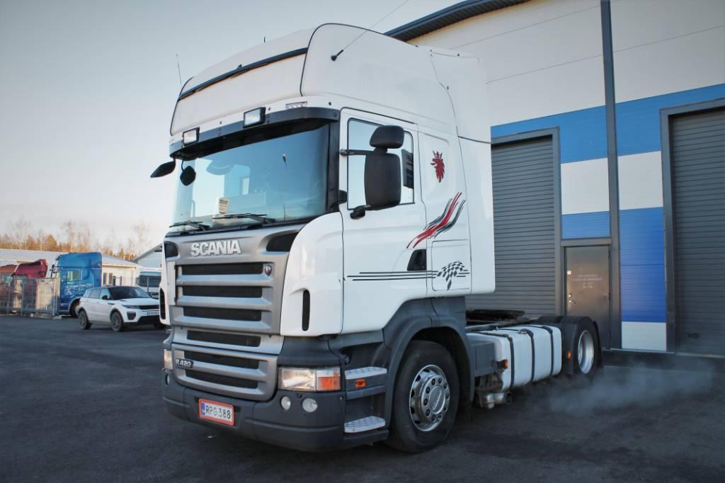Scania R 420, Vetopöytäautot, Kuljetuskalusto