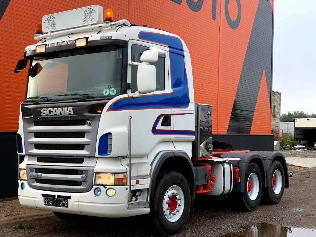 Scania R500 Full steel, Retarder, Hydraulics, Sadulveokid, Transport