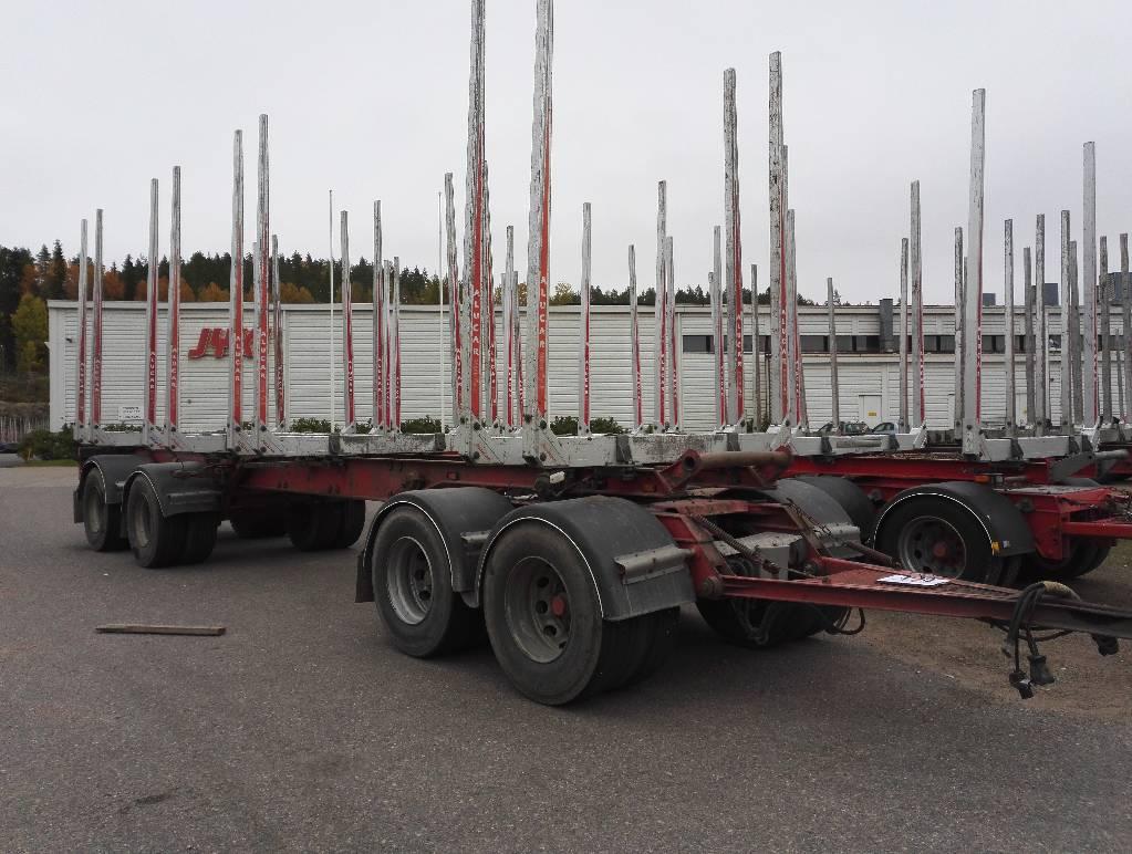 Briab Jatkettava/Extendable, Puuperävaunut, Kuljetuskalusto