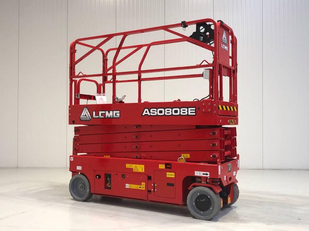 LGMG AS0808E, Schaarhoogwerkers, Bouw