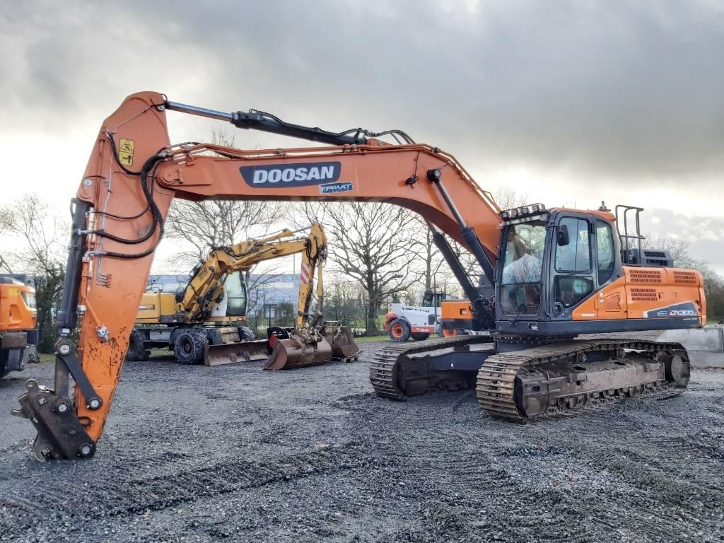 Doosan DX 300 LC-5, Crawler Excavators, Construction Equipment