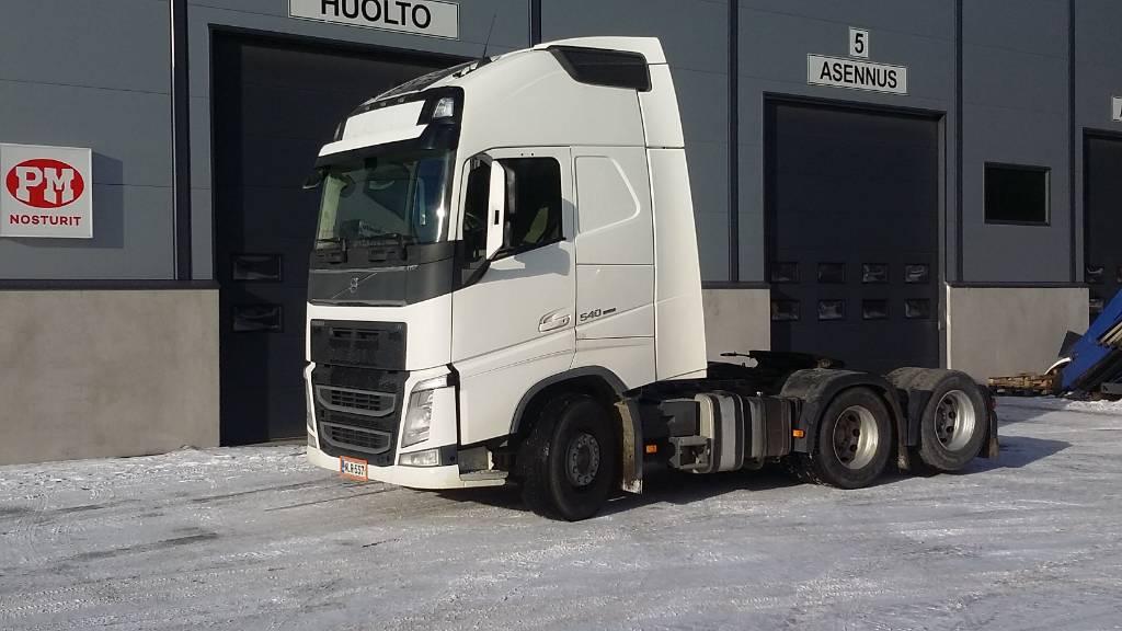Volvo FH540 6X2, Vetopöytäautot, Kuljetuskalusto