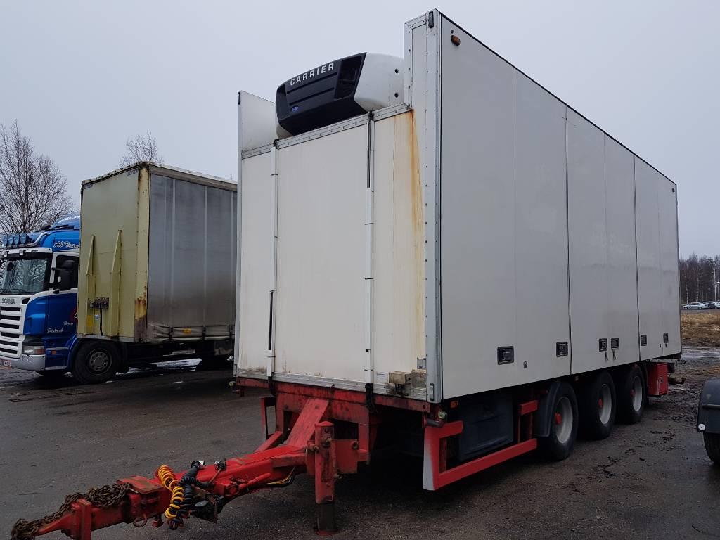 Leci FNA Korinen vasikka, WPM-143, Box body trailers, Transportation