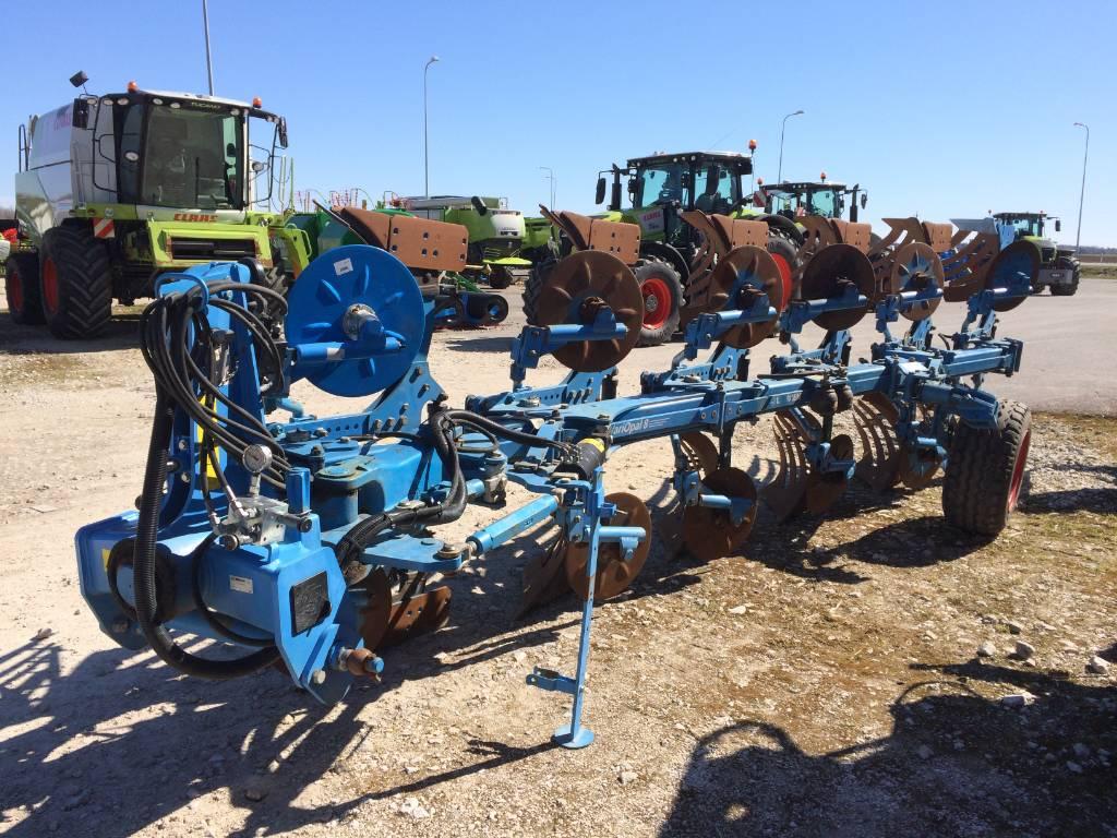 Lemken Vari-Opal 8H5+1L100, Paluuaurat, Maatalouskoneet