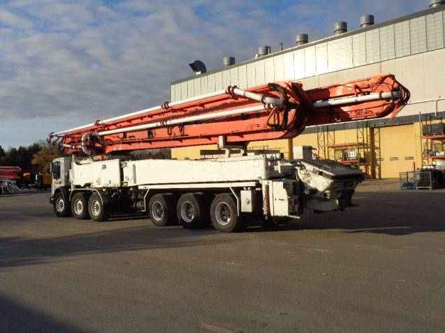 Putzmeister BSF 61.20H, Boom Pumps, Construction Equipment