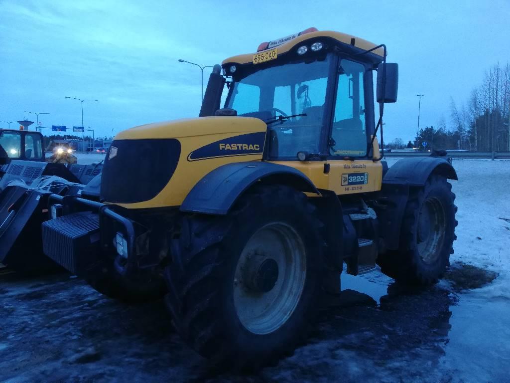 JCB Fastrac 3220, Traktorit, Maatalous