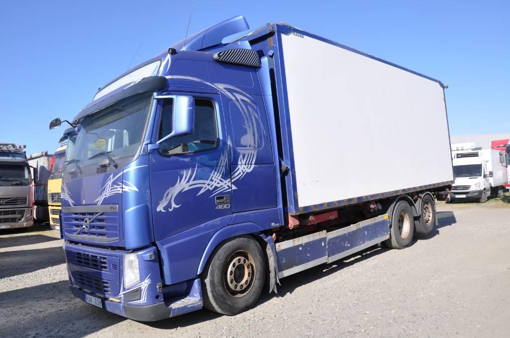Volvo FH480 6X2, Flisbilar, Transportfordon
