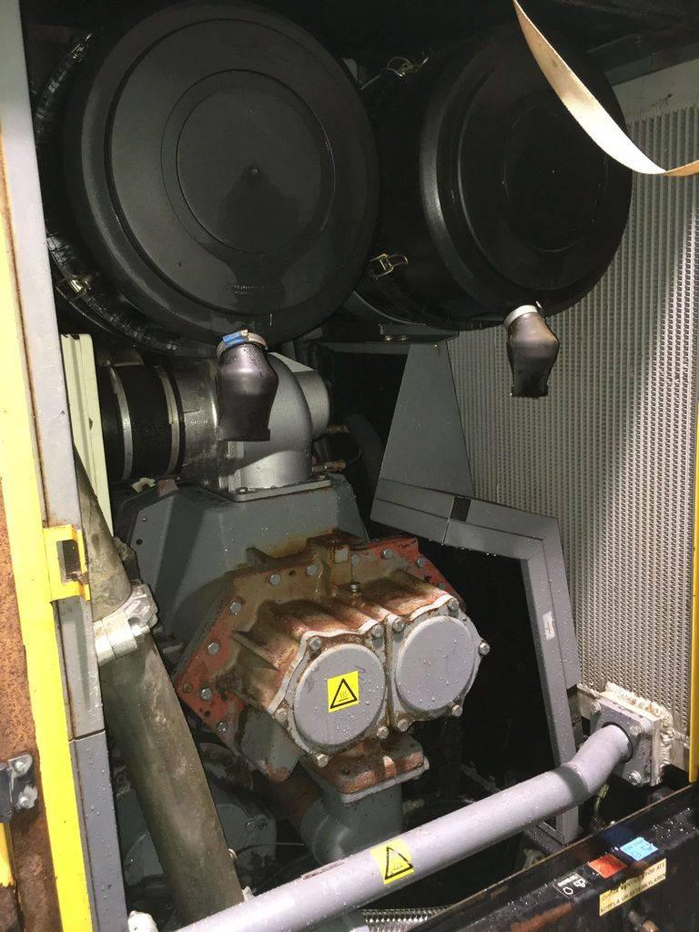Atlas Copco XRVS 466 MD, Compresores, Construcción