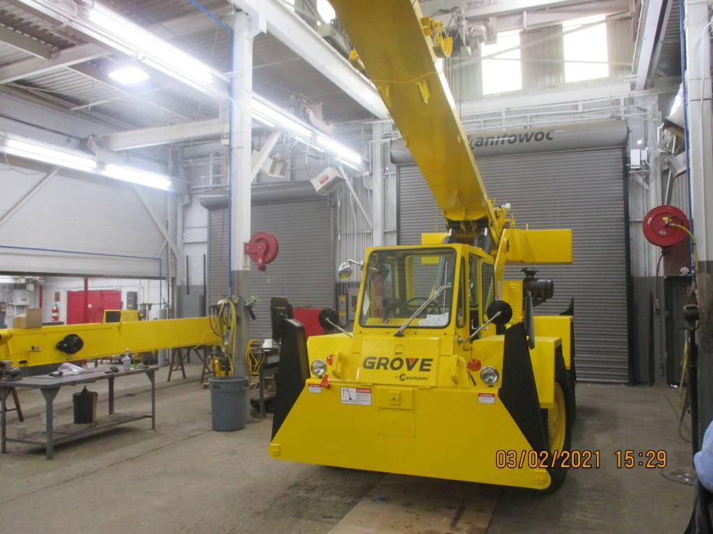 Grove RT 58 B, Tower Cranes, Construction Equipment