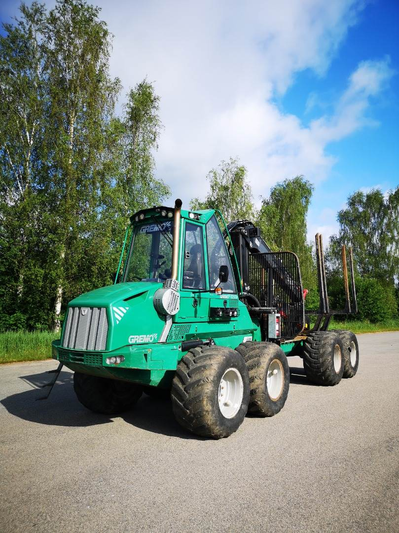 Gremo 1250F, Skotare, Skogsmaskiner